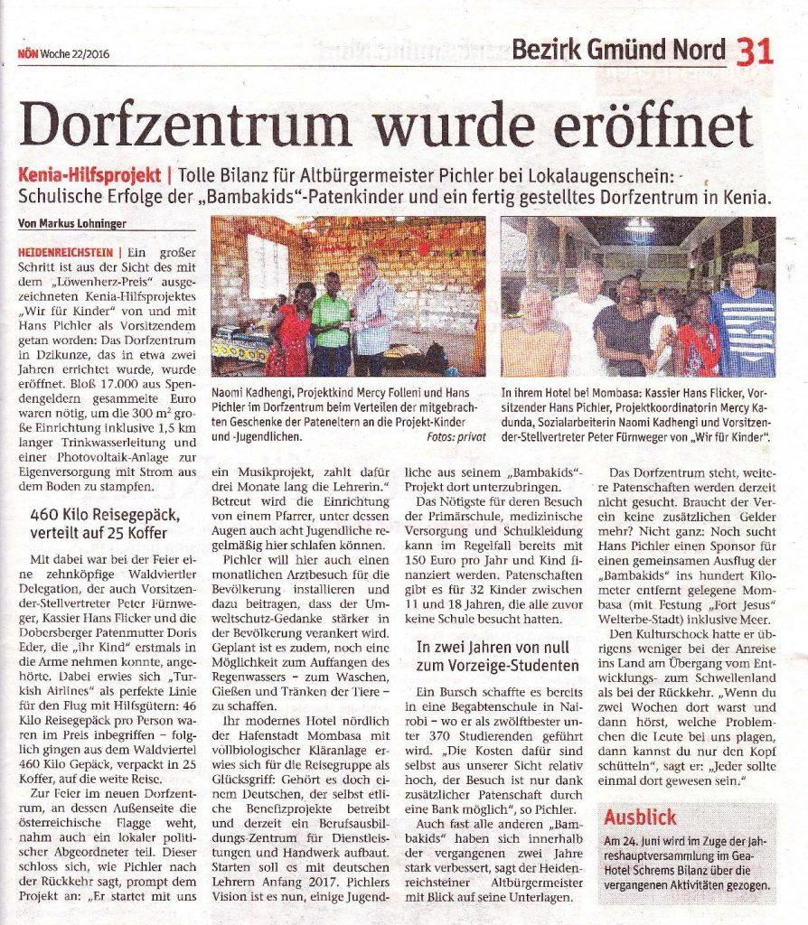 Eröffnung Dorfzentrum2